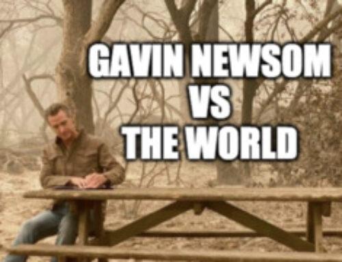 Cracking Kayfabe 7/23: Gavin Newsom vs The World