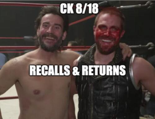 Cracking Kayfabe: Recalls & Returns